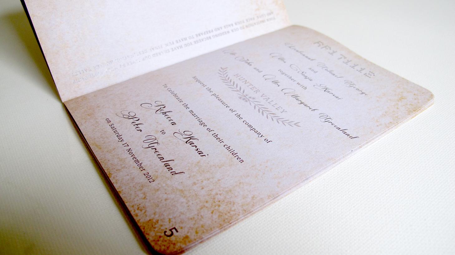 Wedding Invitation   Rara Designs
